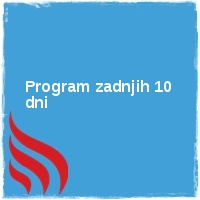 Program zadnjih 10 dni